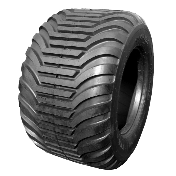 Agricultural high flotation tyres for trailers