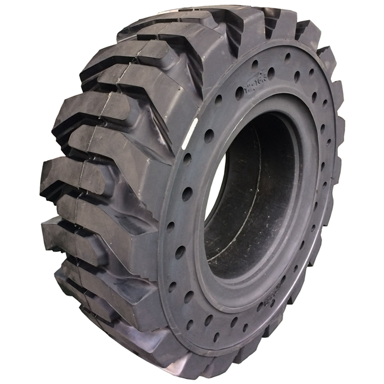 BOSTONE 10-16.5 12-16.5 solid bobcat tires with rim skid steer tyres and wheels